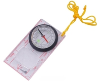 Компас AceCamp Fluorescent Map Compass 3116