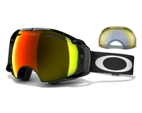 Маска Oakley Airbrake Jet Black/Fire Iridium & H.I. Yellow