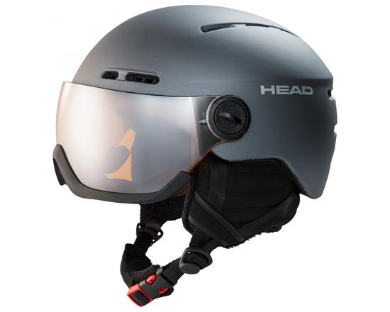 Горнолыжный шлем с визором Head Knight