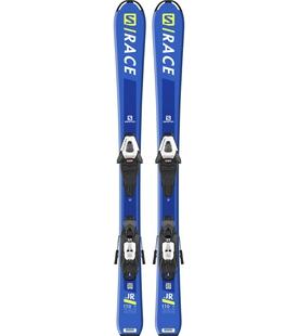 Горные лыжи Salomon S/Race JR S + крепления C5 GW