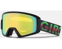 Маска Giro Semi Black Green Poncho / Loden Yellow + Yellow