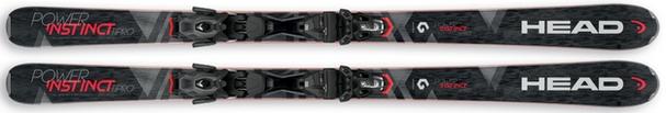 Горные лыжи Head Power Instinct Ti Pro + крепления PRD 12