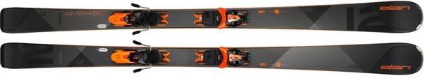 Горные лыжи Elan Amphibio 12 TI Power Shift + крепления ELX 11.0