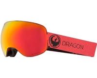 Маска  Dragon X2 Mill / Lumalens Red Ionized + Lumalens Rose