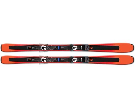 Горные лыжи Salomon XDR 78 STR + Lithium 10 L 17/18
