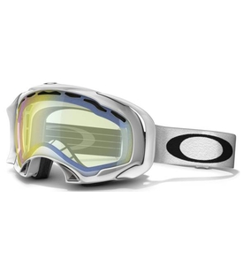 Маска Oakley Splice Polished White / H.I. Yellow