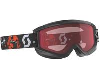 Маска Scott Jr Agent Black Red / Enhancer
