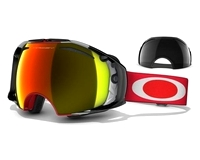 Маска Oakley Airbrake Shaun White Sign. Red Future Primitive/Fire Iridium