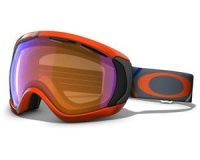 Маска Oakley Canopy Freedom Plaid Neon Fire / H.I. Persimmon