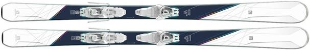 Горные лыжи Salomon W-Max 6 + крепления Lithium 10 W