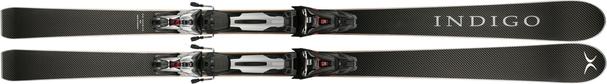 Горные лыжи Indigo Carbon Black Allterrain + Marker XCell 12