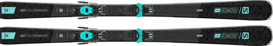 Горные лыжи Salomon S/Force W 7  + крепления M10 GW
