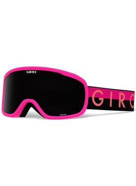Маска Giro Moxie Black Pink Throwback / Ultra Black 9 + Yellow 84