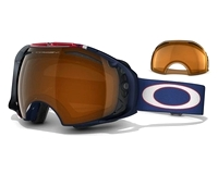 Маска Oakley Airbrake Jet Black / H.I. Yellow + Dark Gray