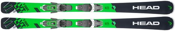 Горные лыжи Head V-Shape V10 + крепления PR 11