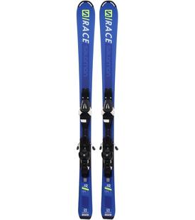 Горные лыжи Salomon S/Race JR M + крепления L6 GW