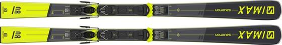 Горные лыжи Salomon S/Max 8 + крепления M11 GW L80