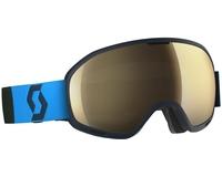 Маска Scott Unlimited II OTG Eclipse Blue / Light Sensitive Bronze Chrome