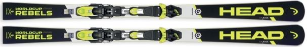 Горные лыжи Head Worldcup Rebels i.Race + крепления Freeflex EVO 11