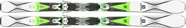 Горные лыжи Salomon X-Drive 8.0 (170) + крепления XTO 10