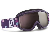Детская маска Scott Hook Up Jr Purple / Silver Chrome
