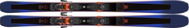Горные лыжи Salomon XDR 88 Ti + крепления Warden MNC 13