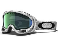 Маска Oakley A-Frame White Factory Text/Emerald Iridium