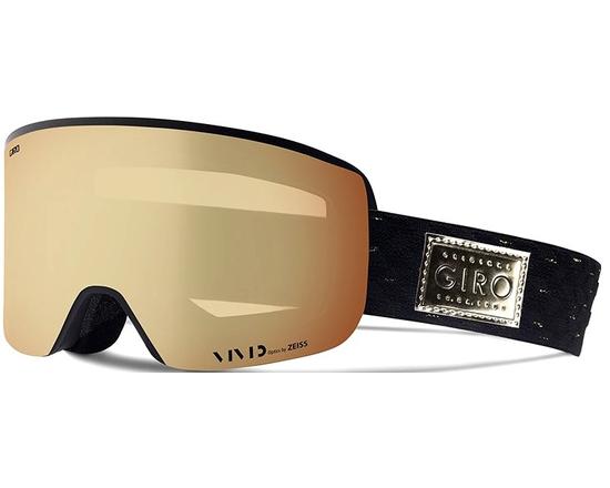 Маска Giro Ella Black / Gold Shimmer / Vivid Copper 18 + Vivid Infrared 62