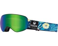 Маска Dragon X2S Aloha / Lumalens® Green Ionized + Lumalens® Amber