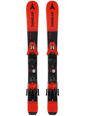 Горные лыжи Atomic Redster J2 70-90 + крепления С 5 GW