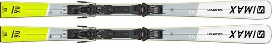Горные лыжи Salomon S/Max 6 + крепления M10 GW L80