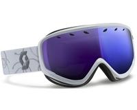 Маска Scott Capri White Silver / Blue Chrome