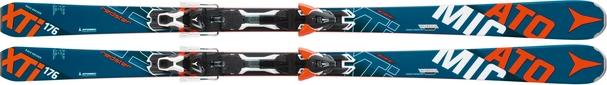 Горные лыжи Atomic Redster XTI + крепления XT 12