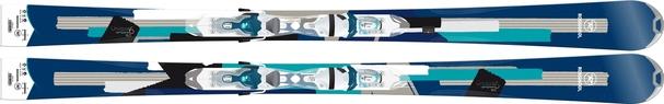 Горные лыжи Rossignol Unique 6 + Xelium Saphir 110 B83