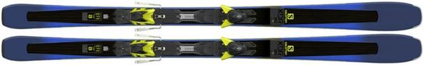 Горные лыжи Salomon XDR 80 Ti + XT 12