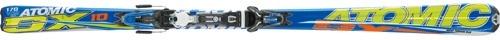 Горные лыжи Atomic SX10 + крепления 4R 310 80 Eco black